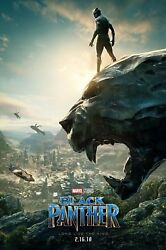 BLACK PANTHER - ONE SHEET - MOVIE POSTER 24x36 - 52544