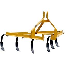 New One Row Cultivator Implement W/heavy Angle Iron Frame Cat. 1