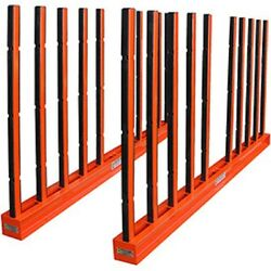 New Abaco Slab Rack With Rubber Lined Poles 118l X 7w X 60h 30000 Cap