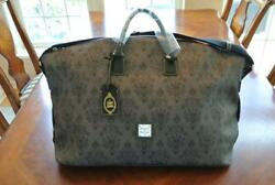 NEW Disney The HAUNTED MANSION Weekender Leather Bag DOONEY & BOURKE Purse Tote