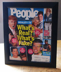 Donald J. Trump Signed People Cover May 2004 The Apprentice Youand039re Fired