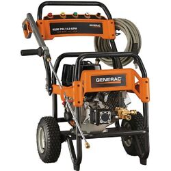 New Generac Commercial Gas Pressure Washer - 4200 Psi 4 Gpm