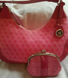 Dooney & Bourke Hobo and Barrel bags - 2 DB Retro Pink hand bags Like NuVintage