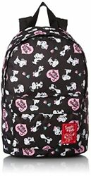 [Peanuts] backpack for kids 38cm SY-757 black Bell pattern PO