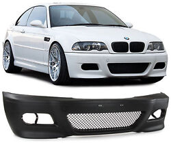 SPORT FRONT BUMPER FOR BMW 3 Series E46 Coupe Convertible 99-07
