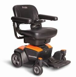Go-chair Pride Mobility Electric Powerchair + 1 Yr Service And Accessory Bundle