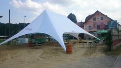 Waterproof Event Beach Yard Lawn Pool Patio Party Double Star Stretch Tent
