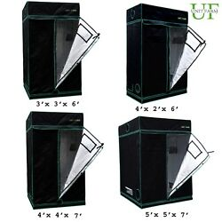 Unit Farm UFG Grow Tent Reflective Mylar Waterproof Indoor Plant Hydroponic