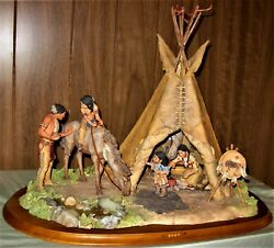 A Place Of Honor Summer Camp On Red Paint Creek Lakota-sioux - Willitts Designs