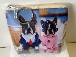 Boston Terrier Funny Coin Pursewallet