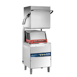 Hood Type High Temperature Dishwasher, Stainless Steel, Three Phase