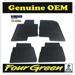 Genuine OEM  4 PCS All Weather Floor Mats For 2011-2014 Hyundai Sonata New