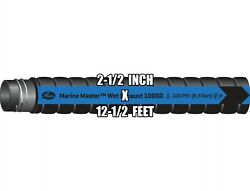 Gates 2-1/2 Inch X 12.5ft. Marine Wet Exhaust Hardwall Hose With Metal Helix