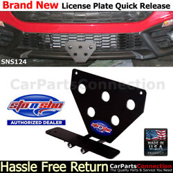 Sto N Sho   For 2017-2019 Fiat 124 Spider Abarth License Plate Bracket Sns124
