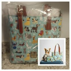 Disney Dogs Emily Dooney & Bourke Tote Bag Purse Sold Out 👜 Excellent Placement
