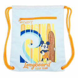Disney Store Mickey Mouse Swim Bag Backpack Boys Kids Tote Accessory $19.90