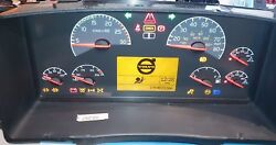 Used 2010 To 2013 Volvo Vnl Semi Tractor 7 Guages Instrument Cluster For Sale