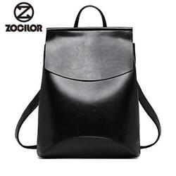 Fashion Women Backpack High Quality Youth Leather Backpacks for Teenage Girls $19.99