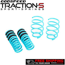 Godspeed Project Traction-s Lowering Springs For Chevrolet Camaro V6 2016-18 Rwd