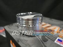 Arias 86.5mm 101 Dome Top Pistons For 1993-1998 Toyota Supra Turbo 2jzgte