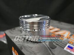 Arias 87mm 10.21 Dome Top Pistons For 1993-1998 Toyota Supra Turbo 2jzgte
