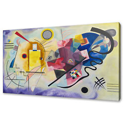 Wassily Kandinsky Yellow Red Blue Canvas Print Picture Wall Art Home Decor