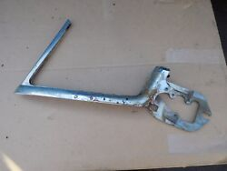 1957 1958 Buick Oldsmobile 2 Dr Ht Lt Vent Frame 4233261 - Solid For Plating