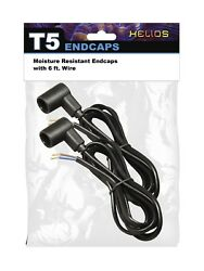 Moisture Resistant Endcaps Fits All T5 Fluorescent Lamps Grow Lights Hydroponics