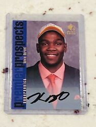 2007-08 Ud Sp Rookie Edition 105 Kevin Durant Rc Auto Autograph Brooklyn Nets