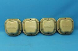 Set Of 4 Continental O-200 Rocker Cover Plates P/n 40762 21813