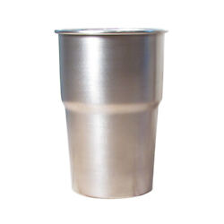Party Steel Eco Cup Metal Pint Stainless Camping Picnic Festival Beer Mug 568ml