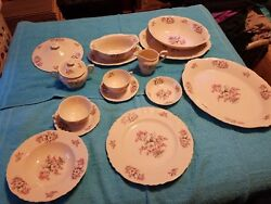 Aberdeen China Set For 12 Complete Set.