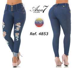 Area 7 Jeans Colombianoscolombian Push Up Levanta Cola Usa Size 5 And 7