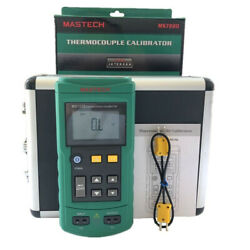 Mastech Ms7220 Thermocouple Calibrator With Mv Source Function
