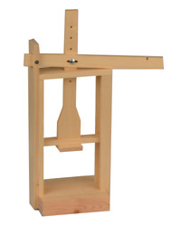 Wooden Deal Cheese Press For Cheese Making
