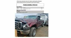 Frame Assembly FORD F350SD 4X4 SRW 158
