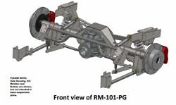 Heidts 65 66 67 68 69 70 Mustang Pro-g 4 Link Rear Suspension Kit, For 9 Inch