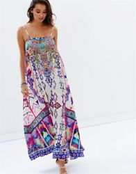 Camilla Franks Silk Crystals Mother Knows Best Tube Dress + Straps Layby Availa