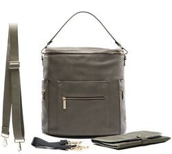 Nappy Bag By Miss Fong Leather Nappy Bag Backpack With Diaper Bag PadWipes