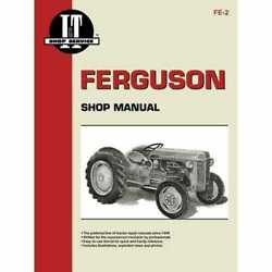 Iandt Shop Manual Compatible With Massey Ferguson To30 To30 Te20 Te20 To20 To20