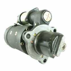 Starter - Delco Style Dd 6380 Compatible With White 160 185 International
