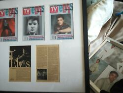 Tv Guide Elvis Forever Special Effects Cover/article Collection Limited Edition