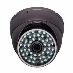 """Sunvision 480tvl Metal In/outdoor Dome Camera 1/3"""" Sony 48 Leds Night Vision 36"""