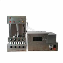 Commercial Pizza Cone Forming Making Machine With Pizza Rotational Oven 220v Ti