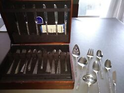 Silver Set- Rogers Brothers- Silver Leaf Pattern