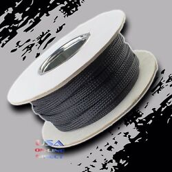 1 1/2 100ft Expandable Braided Conduit Wire Cable Weave Sleeve Hose Cover Tube