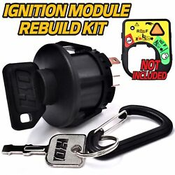 Starter Ignition Key Switch Snap-in Replaces Toro Lx460 Lx465 Lx466 Lx468 Lx500