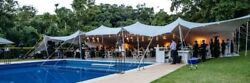 Waterproof Commercial Wedding Event Stage Yard Lawn Pool Bedouin Stretch Tent