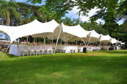 Waterproof Commercial Wedding Event Stage Patio Yard Pool Bedouin Stretch Tent