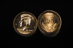 2013 Pandd Brilliant Uncirculated Kennedy Half Dollar 2 Coin Set From Mint Rolls
